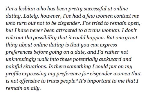 Dan Savage (a man) advice pt 1 (question)