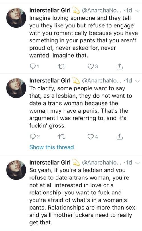 Imagine being gay - gross