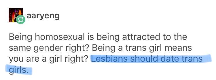 lesbians _should_ date males