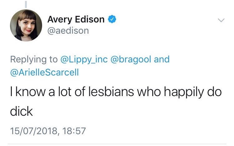normalising the idea a lot of lesbians have heterosexual sex