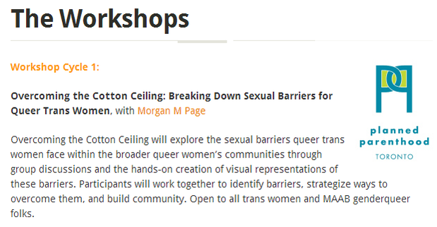 overcoming the cotton ceiling (entering lesbians underpants)
