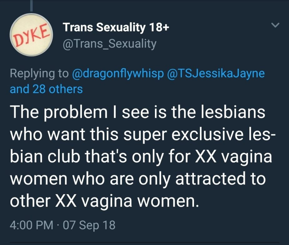 problematic lesbians for being female homosexuals