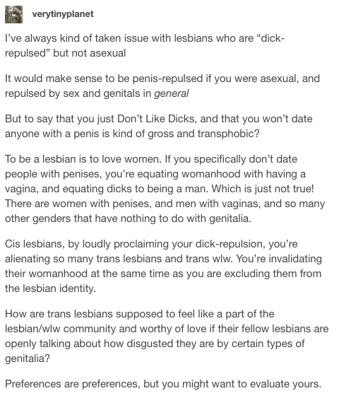 don't say you don't like dicks